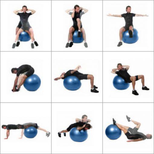 Фитнес топка с диаметър 65 см